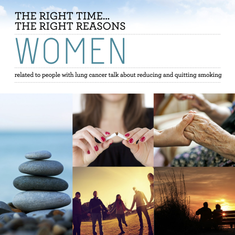 Preview of Lung Cancer Women Booklet